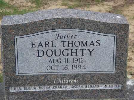 DOUGHTY, EARL THOMAS - Perry County, Arkansas   EARL THOMAS DOUGHTY - Arkansas Gravestone Photos