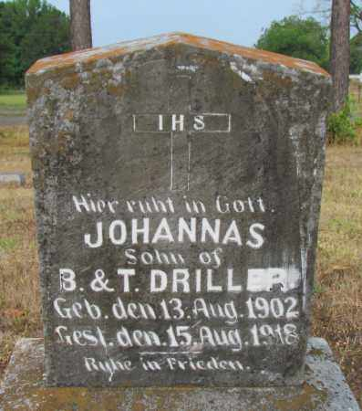 DRILLER, JOHN - Perry County, Arkansas | JOHN DRILLER - Arkansas Gravestone Photos