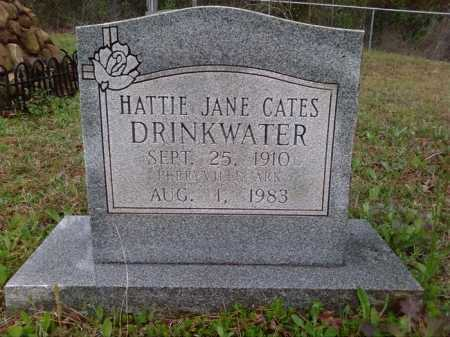 CATES DRINKWATER, HATTIE JANE - Perry County, Arkansas | HATTIE JANE CATES DRINKWATER - Arkansas Gravestone Photos