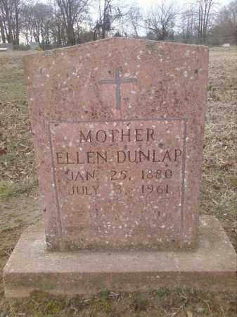 BUNKER DUNLAP, NANCY ELLEN - Perry County, Arkansas | NANCY ELLEN BUNKER DUNLAP - Arkansas Gravestone Photos