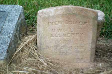 ELSBERY, IVEN - Perry County, Arkansas   IVEN ELSBERY - Arkansas Gravestone Photos