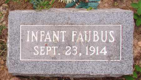 FAUBUS, INFANT - Perry County, Arkansas | INFANT FAUBUS - Arkansas Gravestone Photos