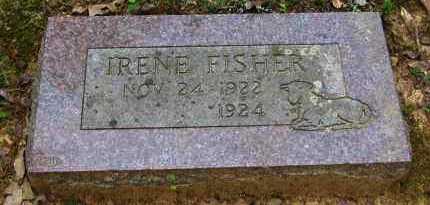FISHER, IRENE - Perry County, Arkansas   IRENE FISHER - Arkansas Gravestone Photos