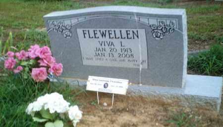 FLEWELLEN, VIVA L. - Perry County, Arkansas | VIVA L. FLEWELLEN - Arkansas Gravestone Photos