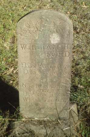 FORD, WILLIAM H. - Perry County, Arkansas | WILLIAM H. FORD - Arkansas Gravestone Photos