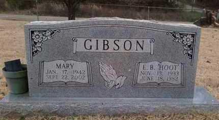 """GIBSON, E. B. """"HOOT"""" - Perry County, Arkansas   E. B. """"HOOT"""" GIBSON - Arkansas Gravestone Photos"""