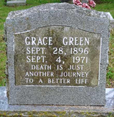 GREEN, GRACE - Perry County, Arkansas   GRACE GREEN - Arkansas Gravestone Photos