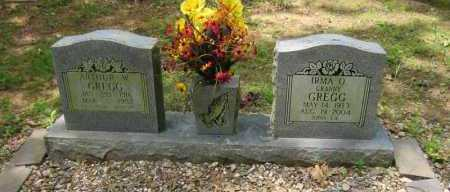 GREGG, ARTHUR W - Perry County, Arkansas | ARTHUR W GREGG - Arkansas Gravestone Photos