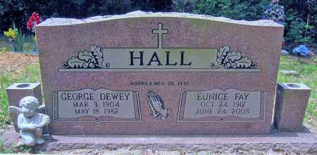 HALL, GEORGE DEWEY - Perry County, Arkansas | GEORGE DEWEY HALL - Arkansas Gravestone Photos