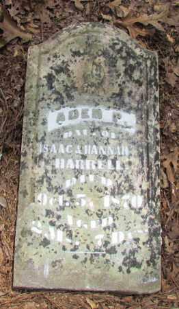 HARRELL, ADER P - Perry County, Arkansas   ADER P HARRELL - Arkansas Gravestone Photos