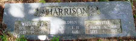 HARRISON, WILLIAM R - Perry County, Arkansas | WILLIAM R HARRISON - Arkansas Gravestone Photos