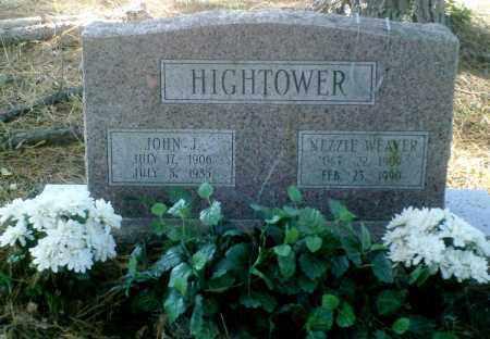 HIGHTOWER, NEZZIE - Perry County, Arkansas | NEZZIE HIGHTOWER - Arkansas Gravestone Photos