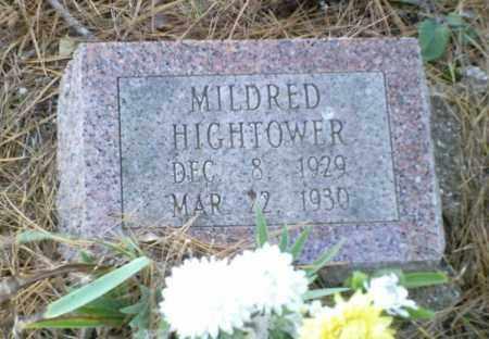 HIGHTOWER, MILDRED - Perry County, Arkansas | MILDRED HIGHTOWER - Arkansas Gravestone Photos