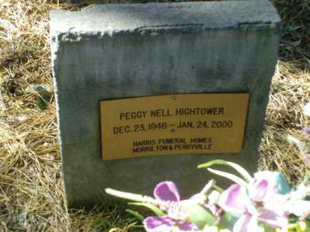 HIGHTOWER, PEGGY NELL - Perry County, Arkansas | PEGGY NELL HIGHTOWER - Arkansas Gravestone Photos