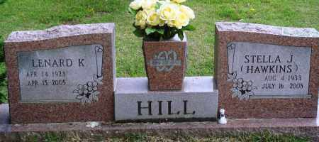 HAWKINS HILL, STELLA J - Perry County, Arkansas | STELLA J HAWKINS HILL - Arkansas Gravestone Photos