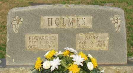 HOLMES, EDWARD E - Perry County, Arkansas | EDWARD E HOLMES - Arkansas Gravestone Photos