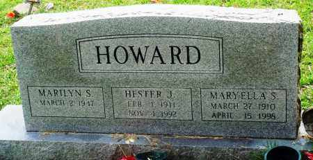HOWARD, HESTER J - Perry County, Arkansas | HESTER J HOWARD - Arkansas Gravestone Photos