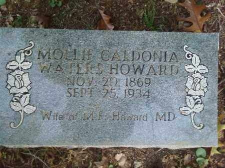 HOWARD, MOLLIE CALDONIA - Perry County, Arkansas | MOLLIE CALDONIA HOWARD - Arkansas Gravestone Photos
