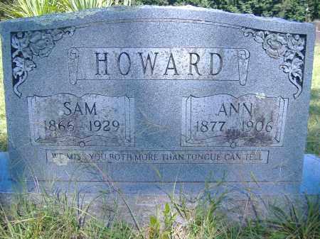 HOWARD, ANN - Perry County, Arkansas   ANN HOWARD - Arkansas Gravestone Photos