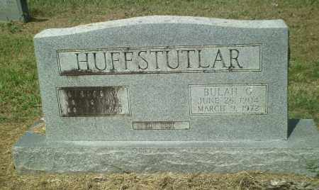 HUFFSTUTLAR, BULAH G. - Perry County, Arkansas | BULAH G. HUFFSTUTLAR - Arkansas Gravestone Photos