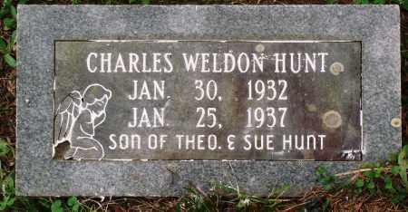 HUNT, CHARLES WELDON - Perry County, Arkansas   CHARLES WELDON HUNT - Arkansas Gravestone Photos