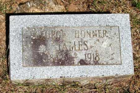 JAMES, GEORGE HONNER - Perry County, Arkansas   GEORGE HONNER JAMES - Arkansas Gravestone Photos