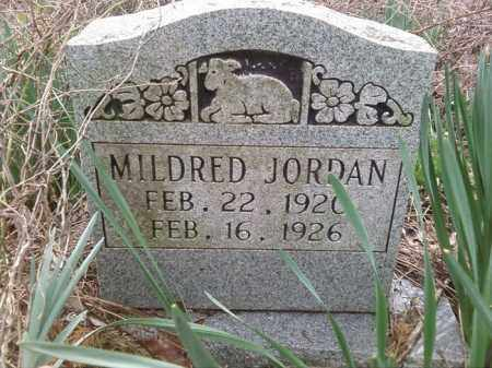 JORDAN, MILDRED - Perry County, Arkansas | MILDRED JORDAN - Arkansas Gravestone Photos