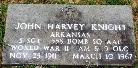KNIGHT (VETERAN WWII), JOHN HARVEY - Perry County, Arkansas   JOHN HARVEY KNIGHT (VETERAN WWII) - Arkansas Gravestone Photos