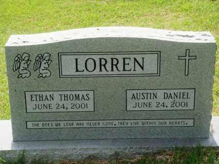 LORREN, ETHAN THOMAS - Perry County, Arkansas | ETHAN THOMAS LORREN - Arkansas Gravestone Photos