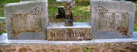 MATTHEWS, MELISSIA S - Perry County, Arkansas | MELISSIA S MATTHEWS - Arkansas Gravestone Photos
