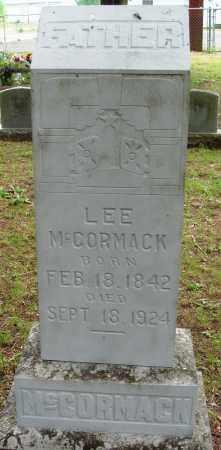 MCCORMACK, LEE - Perry County, Arkansas | LEE MCCORMACK - Arkansas Gravestone Photos