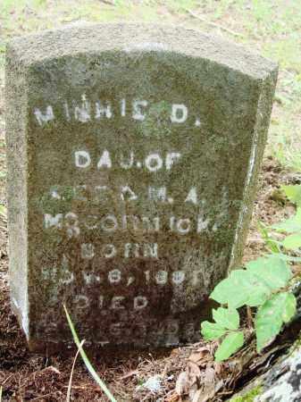MCCORMACK, MINNIE D - Perry County, Arkansas | MINNIE D MCCORMACK - Arkansas Gravestone Photos