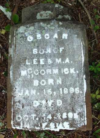 MCCORMACK, OSCAR - Perry County, Arkansas | OSCAR MCCORMACK - Arkansas Gravestone Photos
