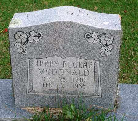 MCDONALD, JERRY EUGENE - Perry County, Arkansas | JERRY EUGENE MCDONALD - Arkansas Gravestone Photos