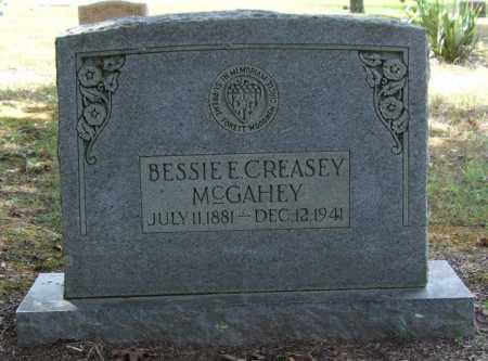 MCGEAHEY, BESSIE E. - Perry County, Arkansas | BESSIE E. MCGEAHEY - Arkansas Gravestone Photos
