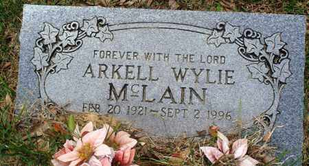MCLAIN, ARKELL WYLIE - Perry County, Arkansas | ARKELL WYLIE MCLAIN - Arkansas Gravestone Photos