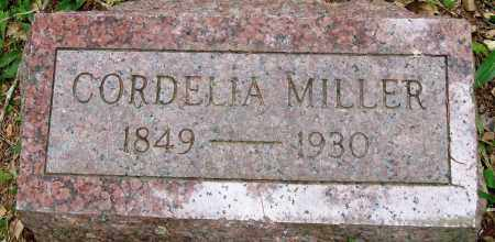 MILLER, CORDELIA - Perry County, Arkansas | CORDELIA MILLER - Arkansas Gravestone Photos