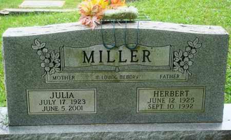 MILLER, JULIA - Perry County, Arkansas   JULIA MILLER - Arkansas Gravestone Photos