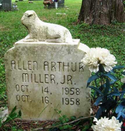 MILLER, JR, ALLEN ARTHUR - Perry County, Arkansas   ALLEN ARTHUR MILLER, JR - Arkansas Gravestone Photos
