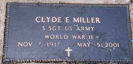 MILLER (VETERAN WWII), CLYDE E - Perry County, Arkansas | CLYDE E MILLER (VETERAN WWII) - Arkansas Gravestone Photos