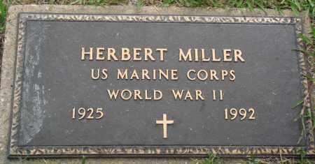 MILLER (VETERAN WWII), HERBERT - Perry County, Arkansas | HERBERT MILLER (VETERAN WWII) - Arkansas Gravestone Photos