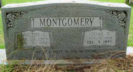 MONTGOMERY, ODAS T - Perry County, Arkansas | ODAS T MONTGOMERY - Arkansas Gravestone Photos