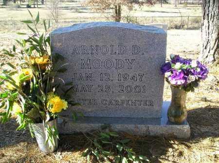 MOODY, ARNOLD D - Perry County, Arkansas | ARNOLD D MOODY - Arkansas Gravestone Photos