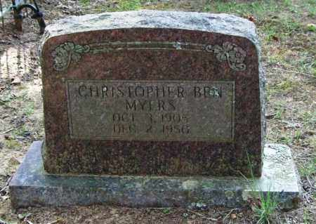 MYERS, CHRISTOPHER BEN - Perry County, Arkansas | CHRISTOPHER BEN MYERS - Arkansas Gravestone Photos