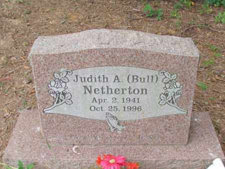 NETHERTON, JUDITH A - Perry County, Arkansas | JUDITH A NETHERTON - Arkansas Gravestone Photos