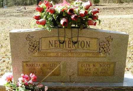 NETHERTON, MARTHA M. - Perry County, Arkansas | MARTHA M. NETHERTON - Arkansas Gravestone Photos