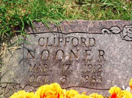 NOONER, CLIFFORD - Perry County, Arkansas | CLIFFORD NOONER - Arkansas Gravestone Photos