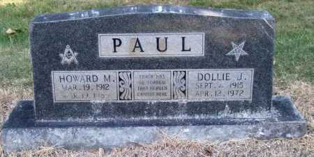 RANKIN PAUL, DOLLIE JANE - Perry County, Arkansas | DOLLIE JANE RANKIN PAUL - Arkansas Gravestone Photos