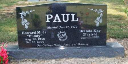 """PAUL, JR., HOWARD M. """"BUDDY"""" - Perry County, Arkansas   HOWARD M. """"BUDDY"""" PAUL, JR. - Arkansas Gravestone Photos"""