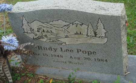 POPE, RUDY LEE - Perry County, Arkansas | RUDY LEE POPE - Arkansas Gravestone Photos